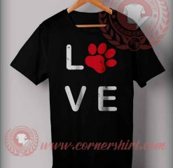Love Paw T shirt
