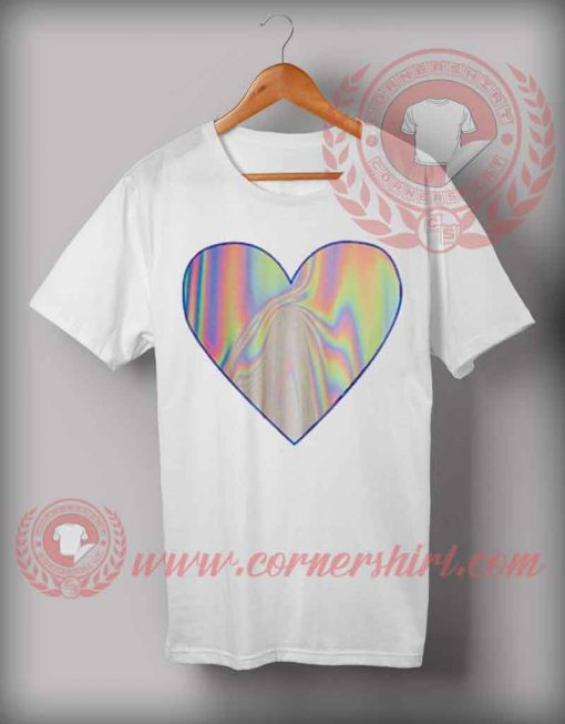 Love Holographic T shirt