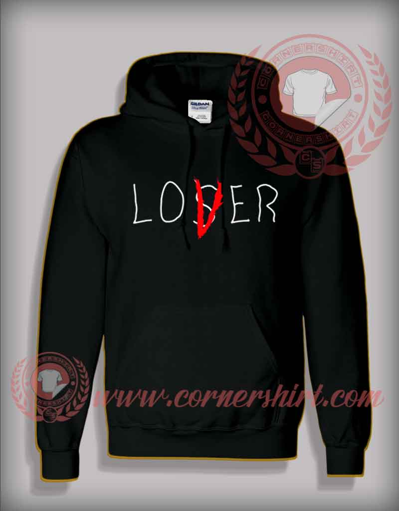 Lover Not Loser It Movie Pullover Hoodie By Cornershirt Com