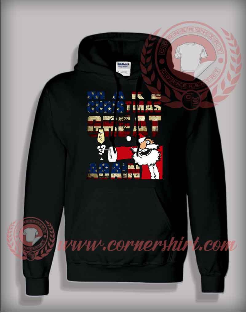 make christmas great again pullover hoodie