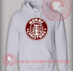Marry Christmas Star Bucks Pullover Hoodie
