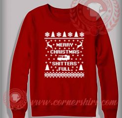 Merry Christmas Shitter Full Sweatshirt