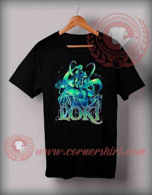 Mischief Psycho Lightning Grin T shirt
