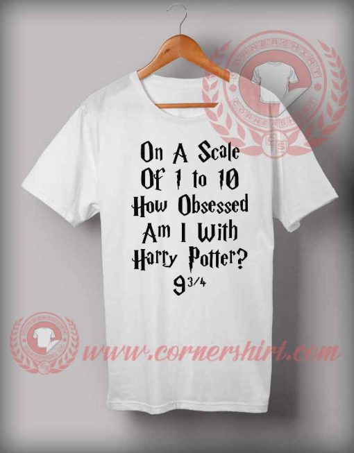 How Scale Obsessed With Harry Potter T shirt