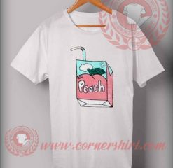 Peach Soft Drink Box T Shirt