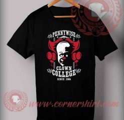 Pennywise Clown Collage T Shirt