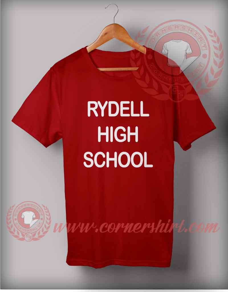 Rydell high school t shirt cheap custom made t shirts for Custom high school shirts