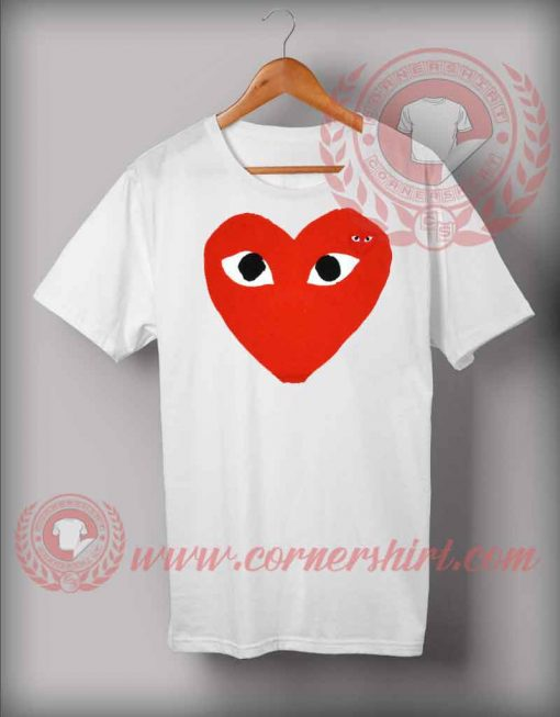 Red Heart Style T shirt