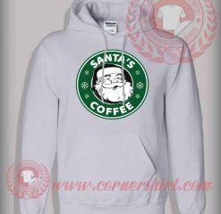 Santa's Coffee Pullover Hoodie