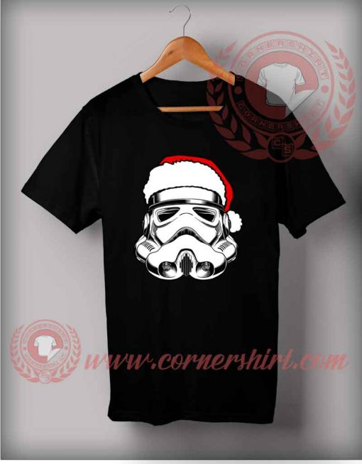 Santas Trooper T shirt