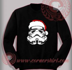 Santas Trooper Sweatshirt Funny Christmas Gifts For Friends