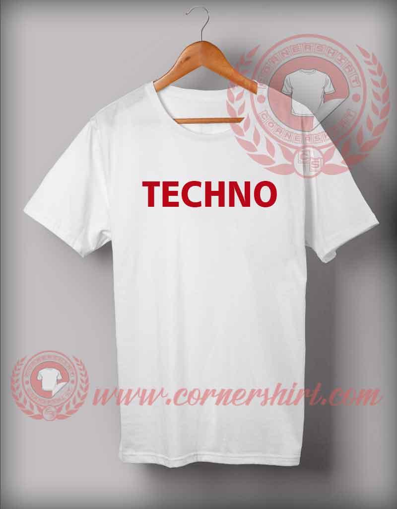 Techno t shirt custom design shirts by for Custom t shirts under 10
