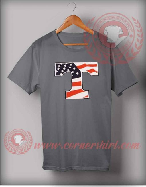 Tennessee American Flag T shirt