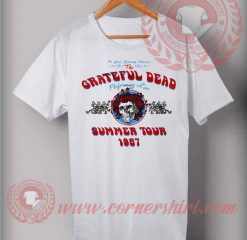 The Grateful Dead Summer Tour 1987 T shirt
