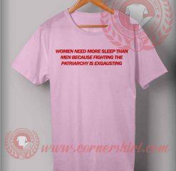 Woman Need More Sleep T shirt
