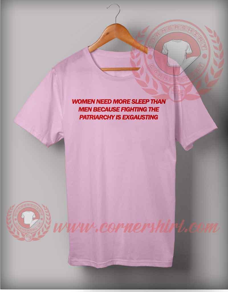 Woman Need More Sleep T Shirt Custom
