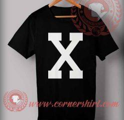 X Logo T shirt