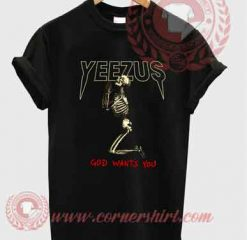 Yeezus Skull T shirt