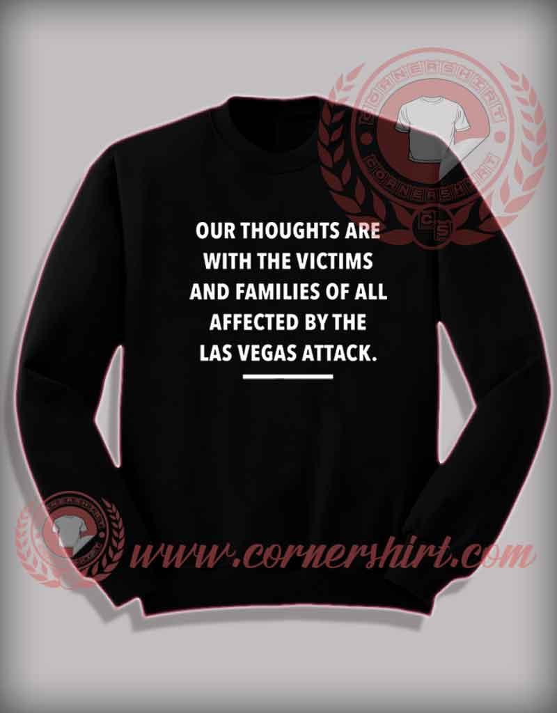 Affected By Las Vegas Attack Sweatshirt Cheap Custom