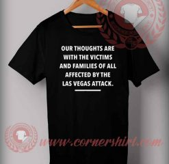 Affected By Las Vegas Attack T shirt