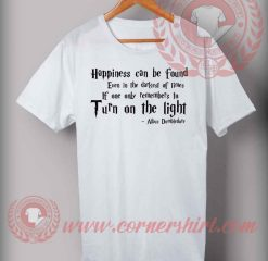 Albus Dumbledor Quotes T shirt