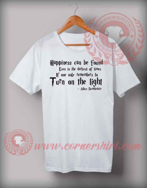 Albus Dumbledor Quotes T shirt