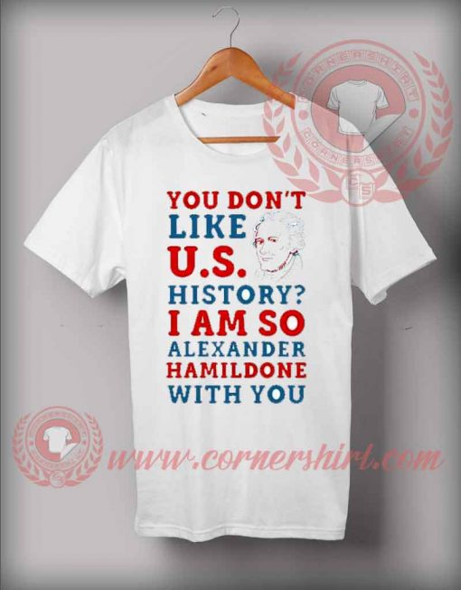 Alexander Hamildone Christmas T shirt