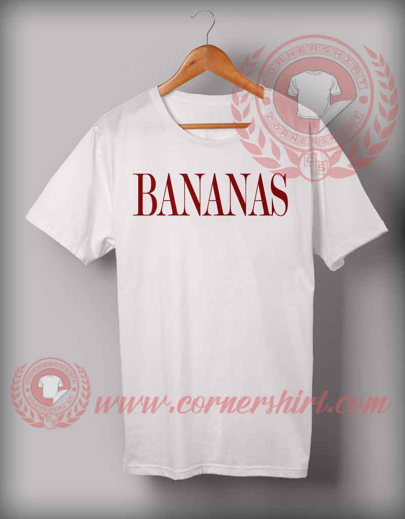 Bananas t shirt cheap custom made t shirts on sale by for Custom t shirts under 10