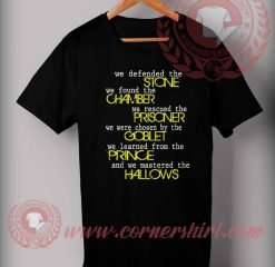 Being A Potter Head T shirt