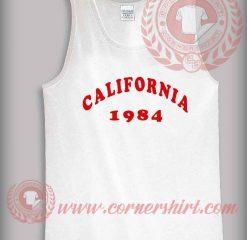 California 1984 Tank Top Mens or Womens