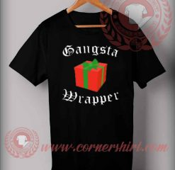 Gangsta Wrapper Christmas T shirt