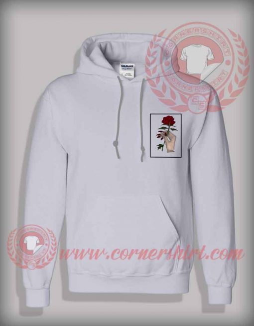 Giving A Rose Pullover Hoodie