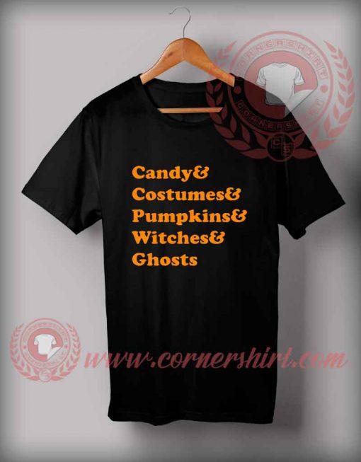 All Family Halloween T Shirt