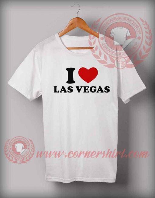 I Love Las Vegas T shirt
