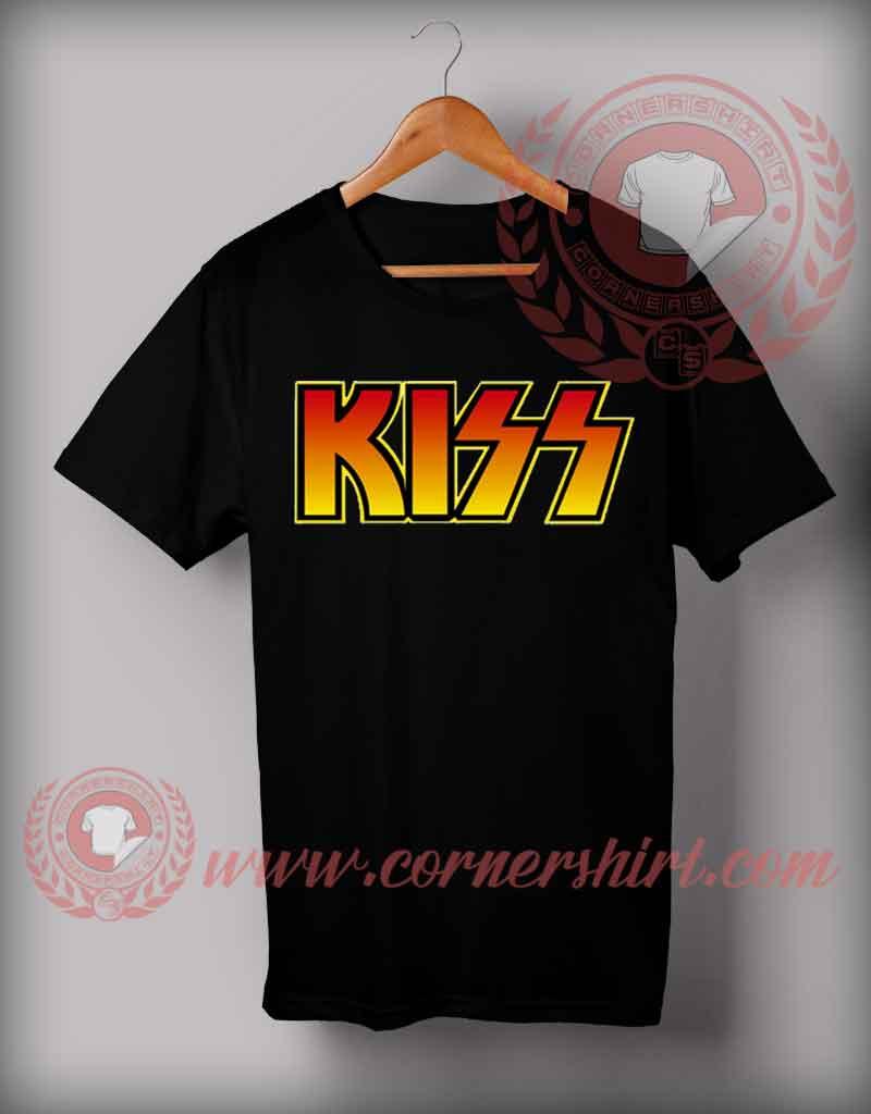 Kiss logo t shirt cheap custom made t shirts by for Custom t shirts under 10