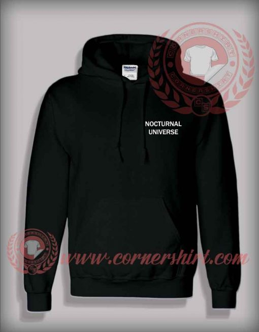 Nocturnal Universe Pullover Hoodie