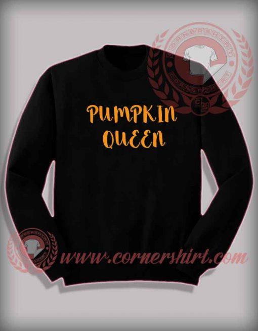 Pumpkin Queen Halloween Sweatshirt