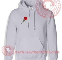 Red Rose Pullover Hoodie