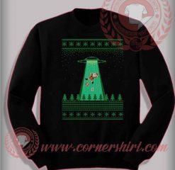 Santa Good Bye Christmas Sweatshirt