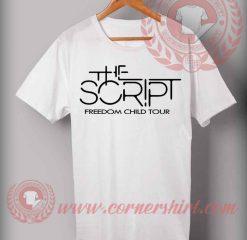 The Script Freedom Child Tour T shirt