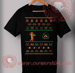We Wish You Metroid Christmas T shirt
