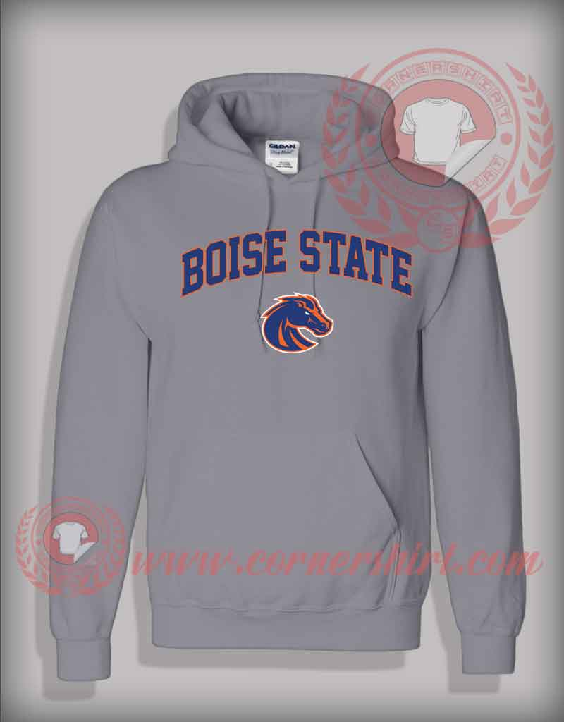 Boise state pullover hoodie on sale by for Boise t shirt printing
