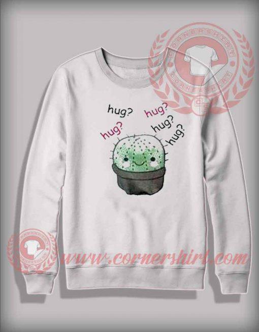Cactus Hug Crewneck Sweatshirt