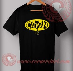 Catman Cartoon Parody T shirt