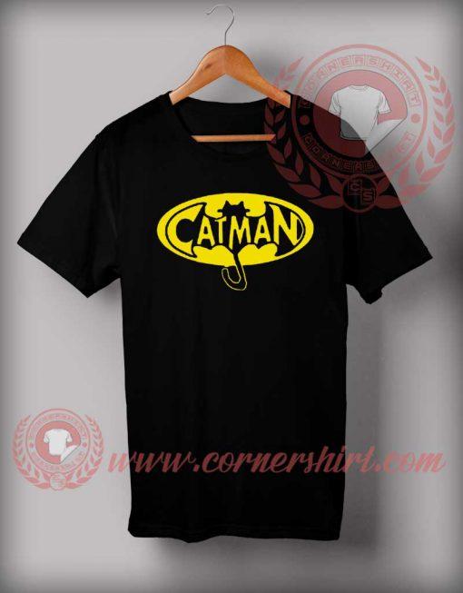 Catman Cartoon Parody T shirt