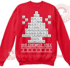Chemist Tree Christmas Sweatshirt