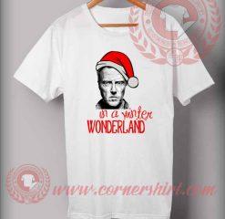 Christopher Walken Christmas T shirt