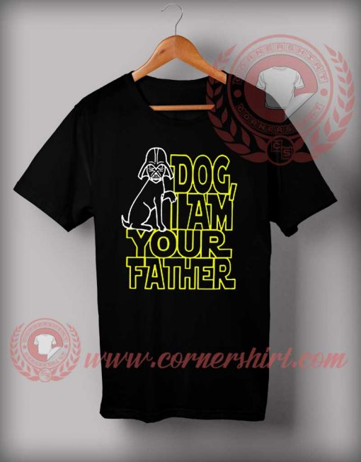 Dog Iam Your Father Star Wars T Shirt