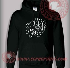 Gobble Y'all SVG Christmas Pullover Hoodie
