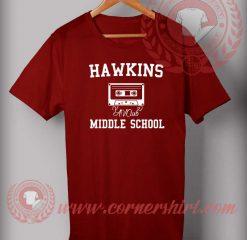 Hawkins Middle School Stranger Things T Shirt